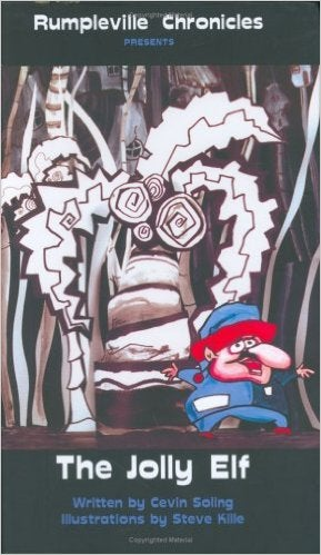 """Image of Rumpleville book series - """"The Jolly Elf"""""""