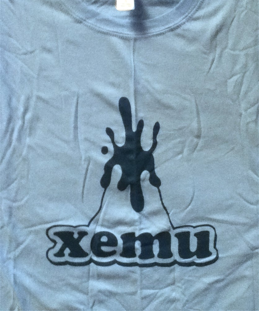 Image of Xemu Records tee shirt