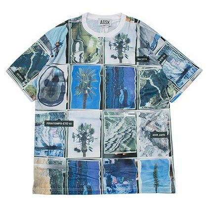 Image of WARPED COLLAGE T-Shirt - Colour