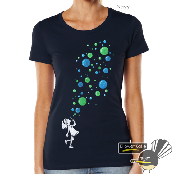 Image of Bubbles - Printed Tee