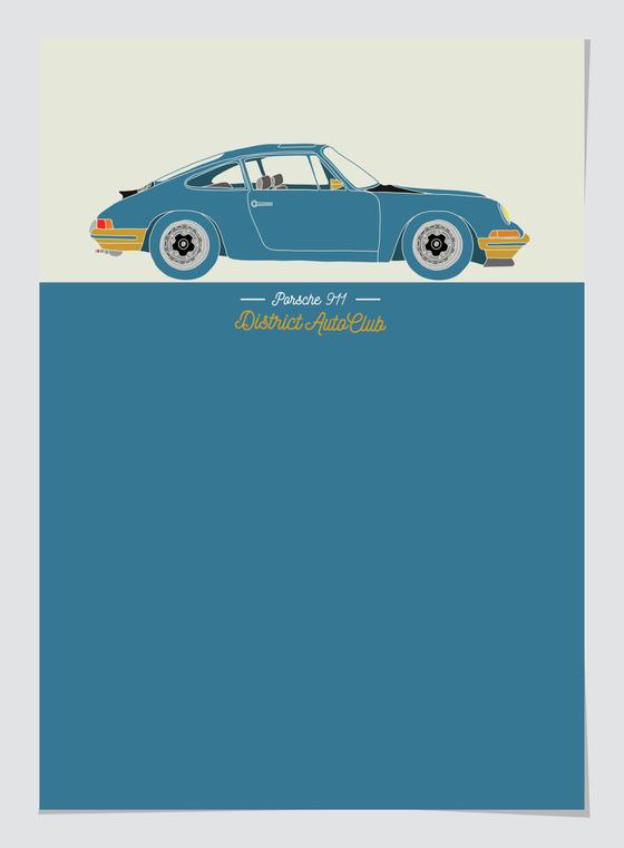 Image of Porsche 911 Outlaw
