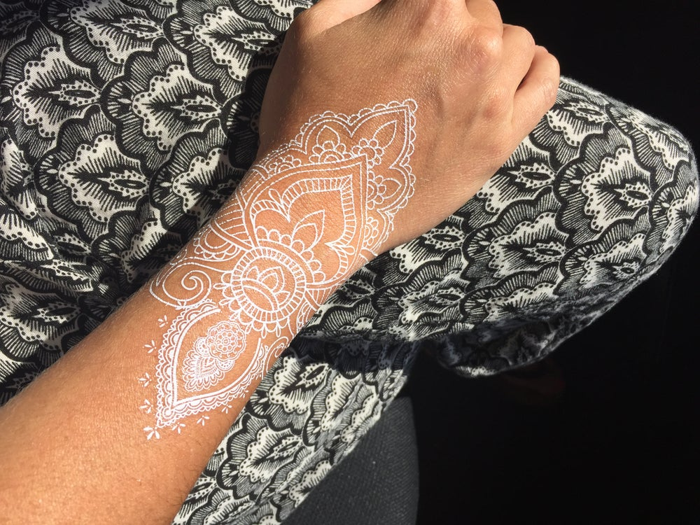 Image of Harni White Henna Tattoo