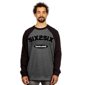 Image of SIX2SIX OAKLAND (DARK GRAY AND BLACK)