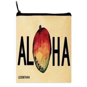 Image of Aloha Mango Watercolor Clutch