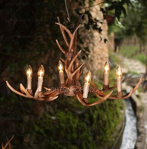 Image of Choice of the antler chandeliers