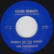 "Image of 7"" The Aquanauts : Rumble On The Docks / Bombora."