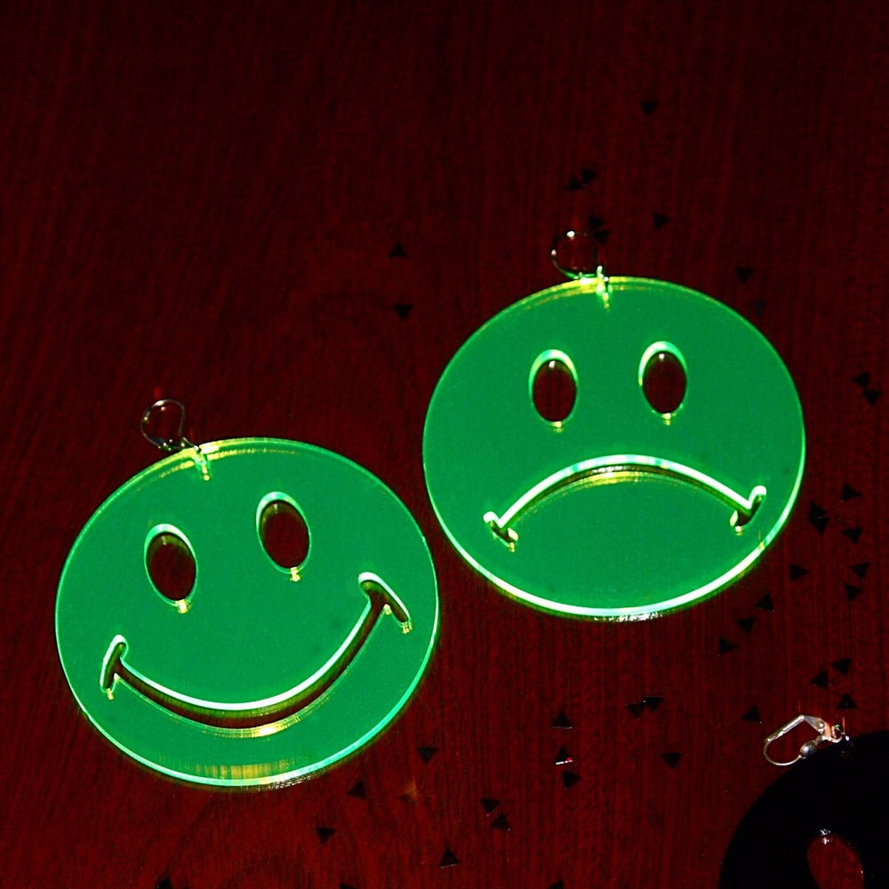 Image of Happy Sad Earrings |Marina Fini|