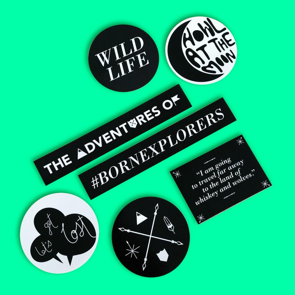 Image of The Adventures Of Stickers
