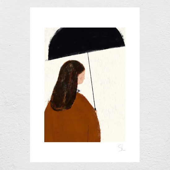 Image of Autumn Girl Print