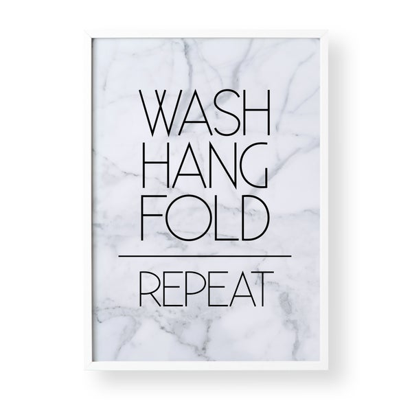 Image of Wash, Hang, Fold, Repeat