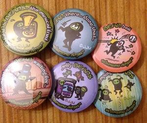 Image of Eda*mame Ninja Buttons #3