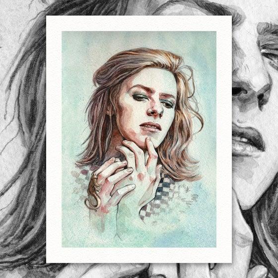 """Image of Hunky Dory 12"""" x 16"""" Giclée Print"""