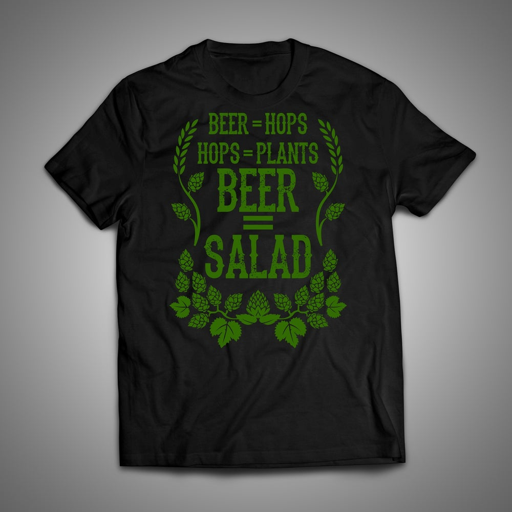 Image of Beer = Salad