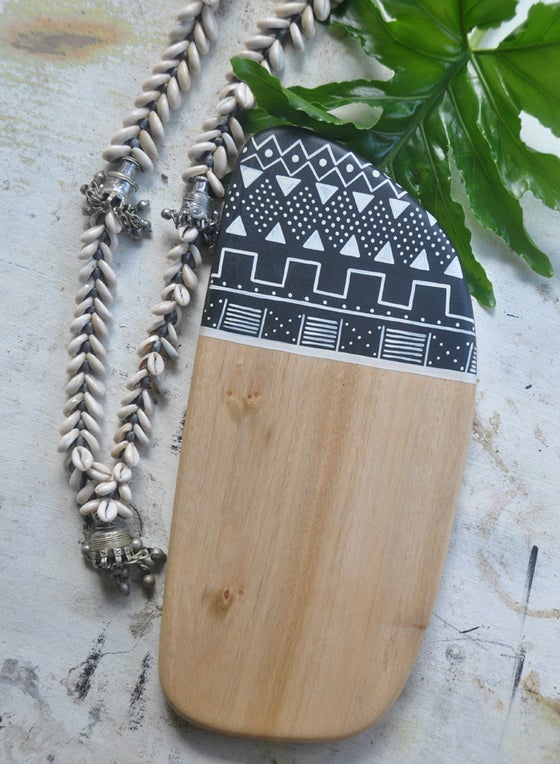 Image of 'Our Tribe' | Handcrafted Reclaimed Camphor Cheeseboard