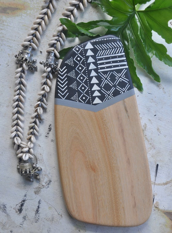 Image of 'Muddy' | Handcrafted Reclaimed Camphor Cheeseboard