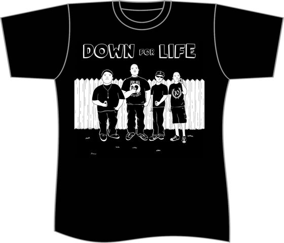 "Image of Down For Life ""KOTH"" Tee"
