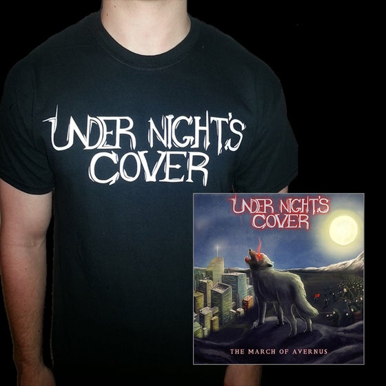 Image of The March of Avernus EP BUNDLE - EP + Logo T-Shirt