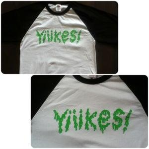 Image of Yiiikes! Baseball T-Shirt