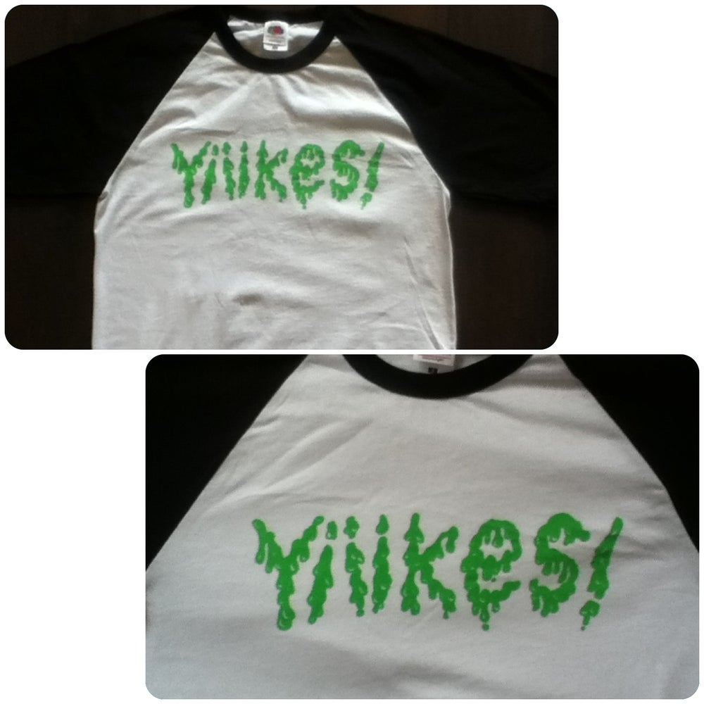 Image of Yiiikes! Baseball T-Shirt