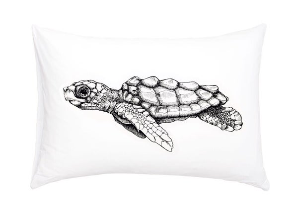 Image of Loggerhead Sea Turtle Pillowcase