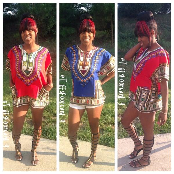 Image of Tribal Print Top/Dress