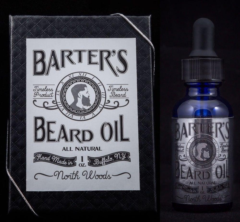 "Image of Barter's Beard Oil- ""North Woods"""