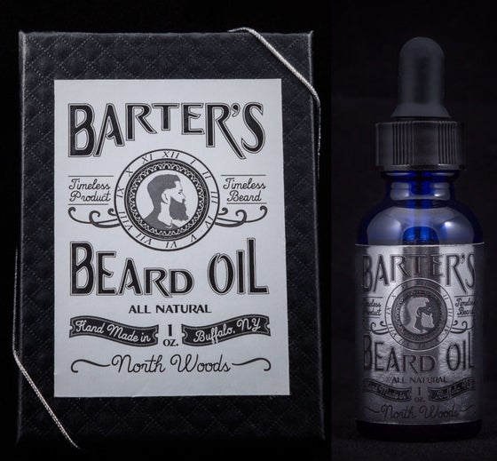 "Image of Barter's Beard Oil- ""North Woods"""