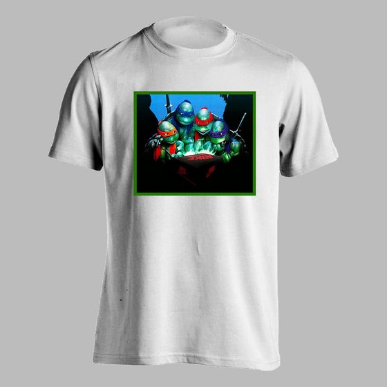 Image of New Sneaker Turtles Shirt (White)