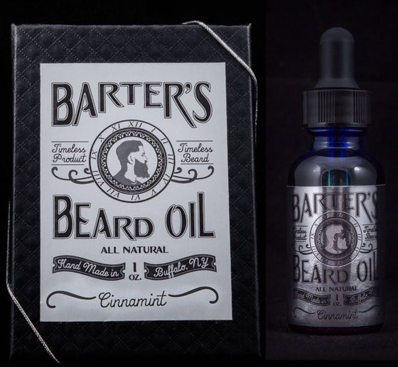 "Image of Barter's Beard Oil - ""Cinnamint"""