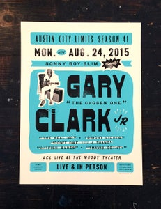 Image of GARY CLARK JR - POSTER