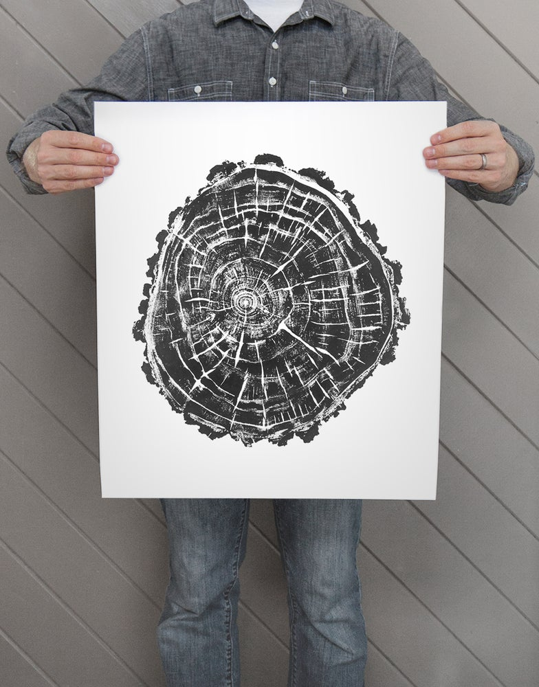 Image of Giclee Stump Print <br><i>Juniper Forest</i>