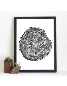 Image of Giclee Stump Print <br><i>Riverside</i>