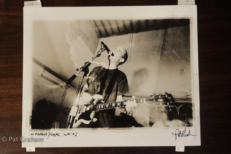 Image of Ian Mackaye Fugazi Live at St Stephens Washington DC 1992