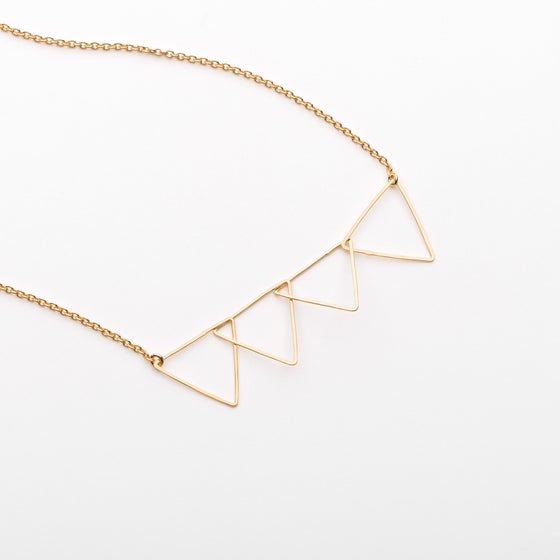 Image of Collier 4 triangles