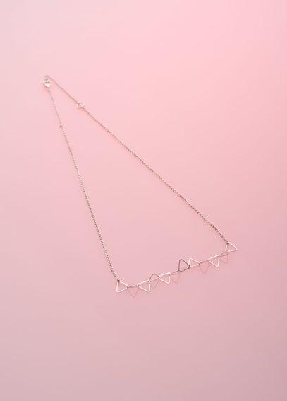 Image of Collier dentelle de triangles