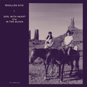 """Image of RIP046 Woollen Kits - Girl With Heart 7"""""""