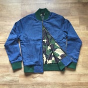 Image of F2D RUGGED DENIM BOMBER JACKET