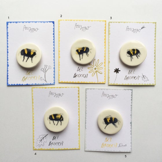 Image of SECONDS - Bumble bee brooches