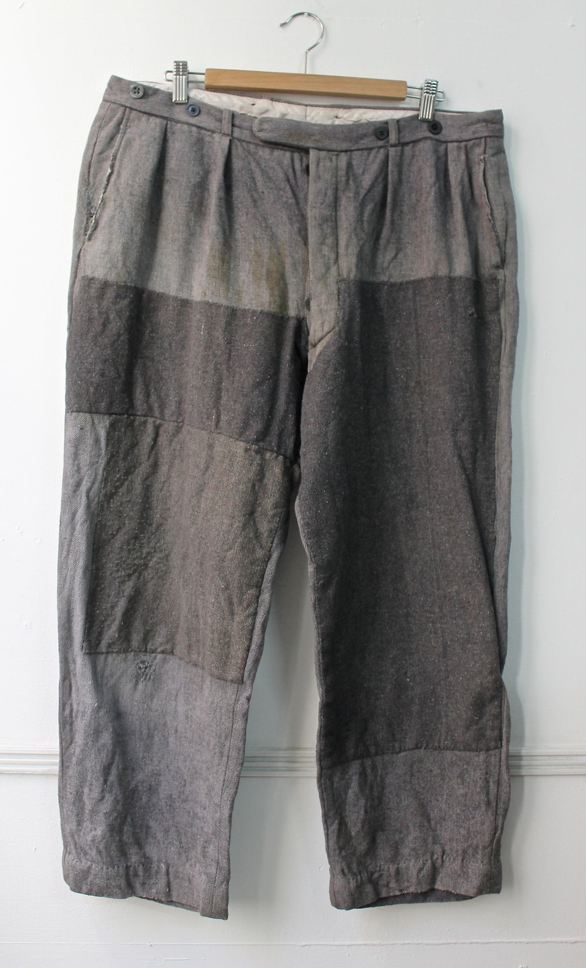 Image of 1920 FRENCH WOOL PANT PATCHED