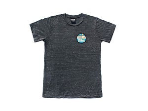 Image of Beach Pocket (Black Marble Tee)
