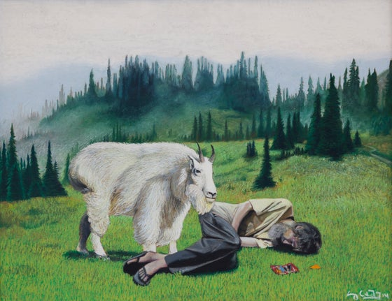 Image of Goat and Hobo