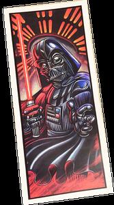 Image of Darth Vader Print