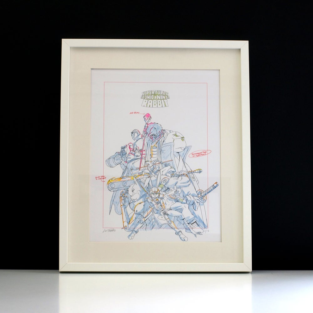 Image of STANR Risograph Print A3 Signed Limited Edition