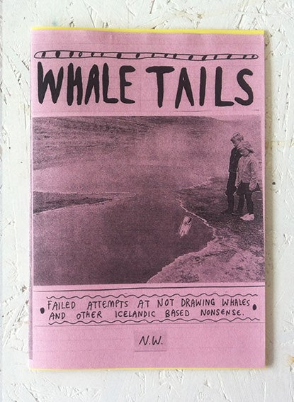 Image of 'Whale Tails' Zine