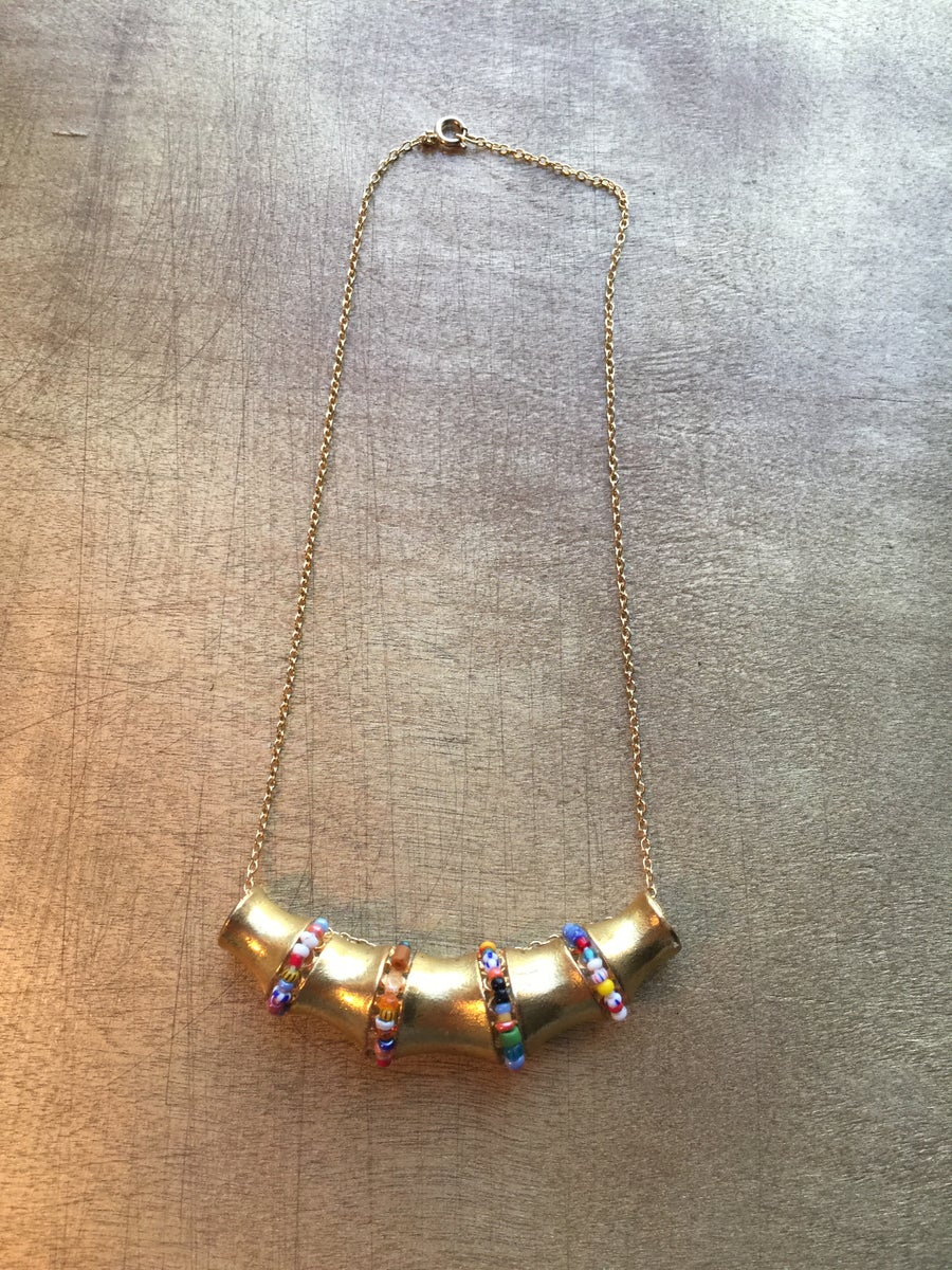 Image of BAMBOO NECKLACE