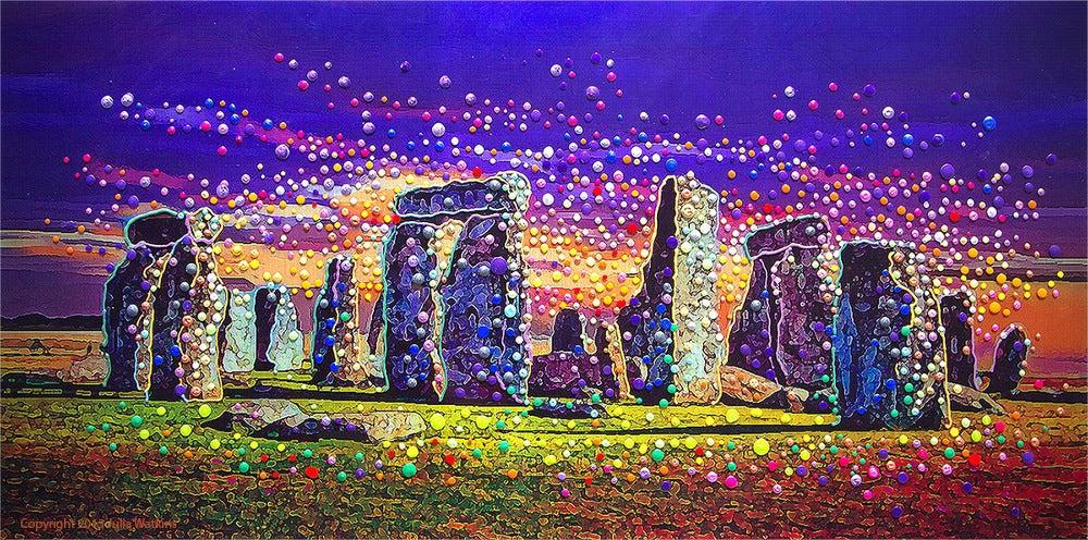 The Energy Art Store By Julia Watkins Stonehenge