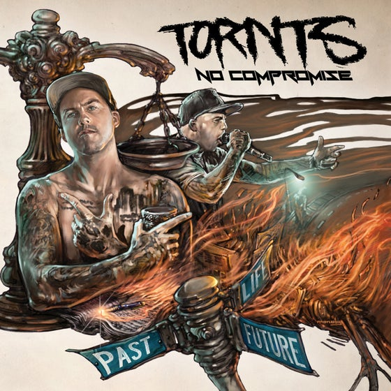 Image of TORNTS- NO COMPROMISE CD