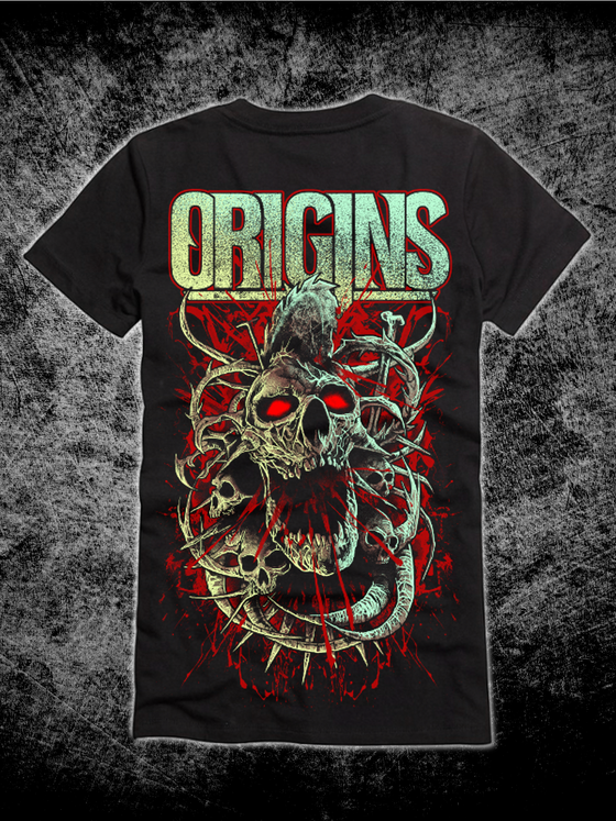 Image of Origins Bloody Skull Tee *PREORDER*