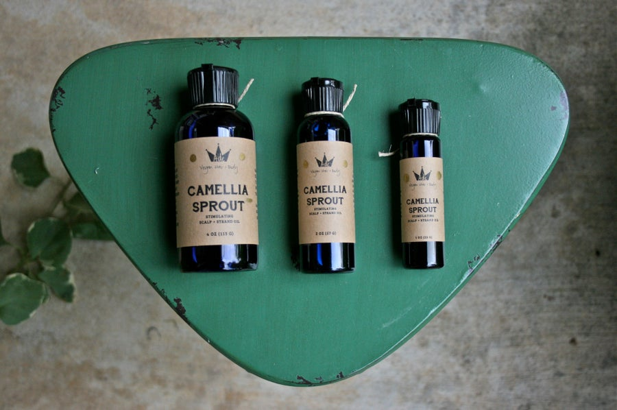Image of Camellia Sprout Stimulating Scalp + Strand Oil