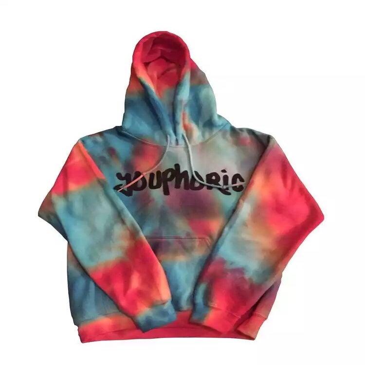 tie dye hoodies 25 00 on sale